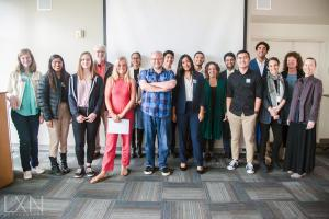 2018 Raab Writing Fellows and Mentors