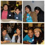 Students and Mentors at the Letter Exchange Campus Event