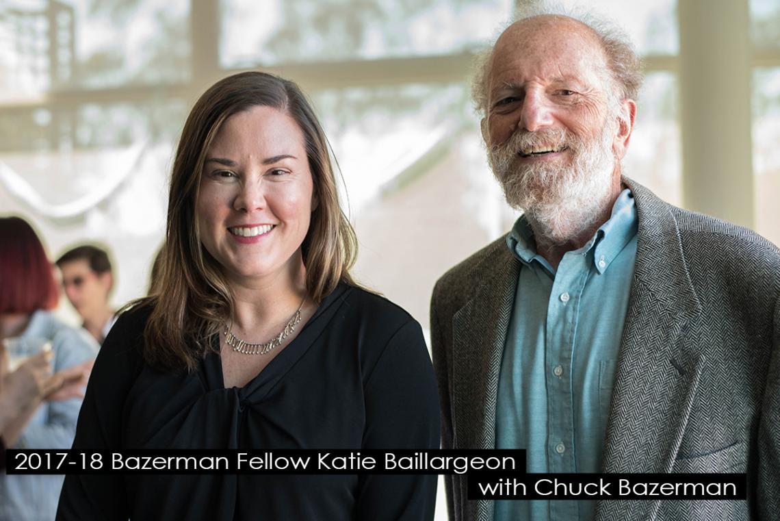 Katie Baillargeon and Chuck Bazerman