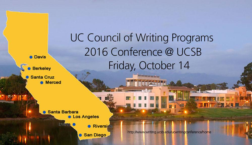 UC Council of Writing Programs conference