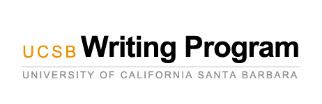 Writing Program - UC Santa Barbara